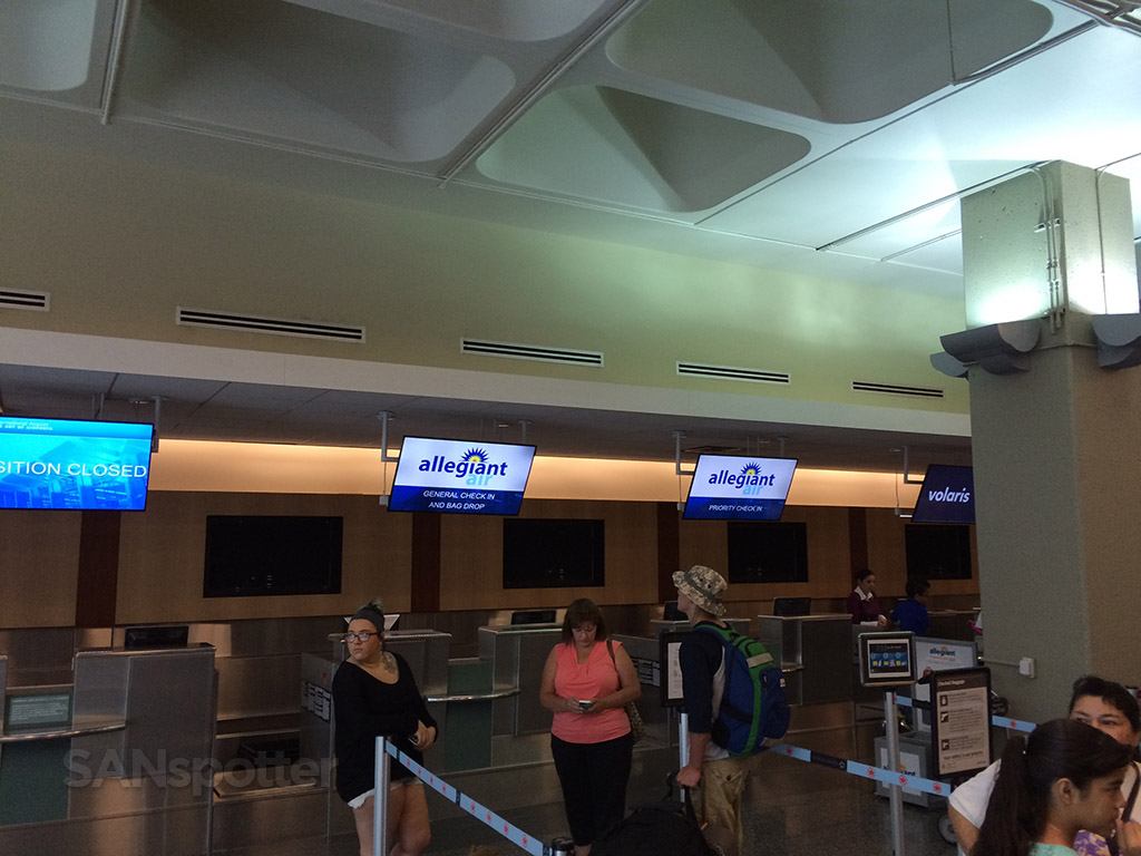 Allegiant Air check in
