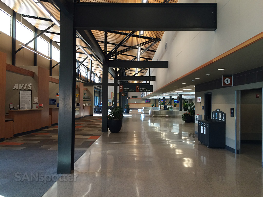 bellingham airport interior