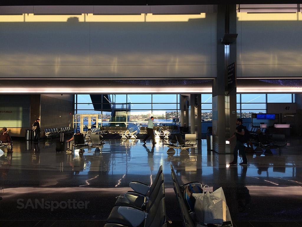 sun rising san diego airport