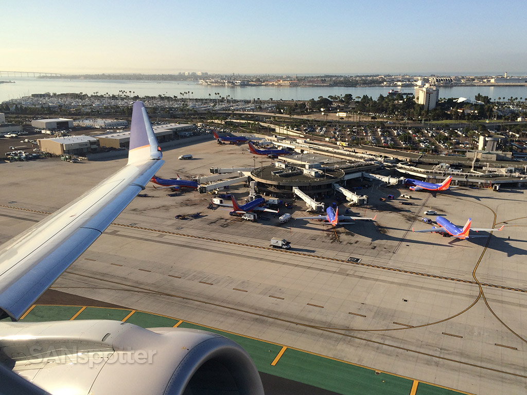 take off from san diego airport
