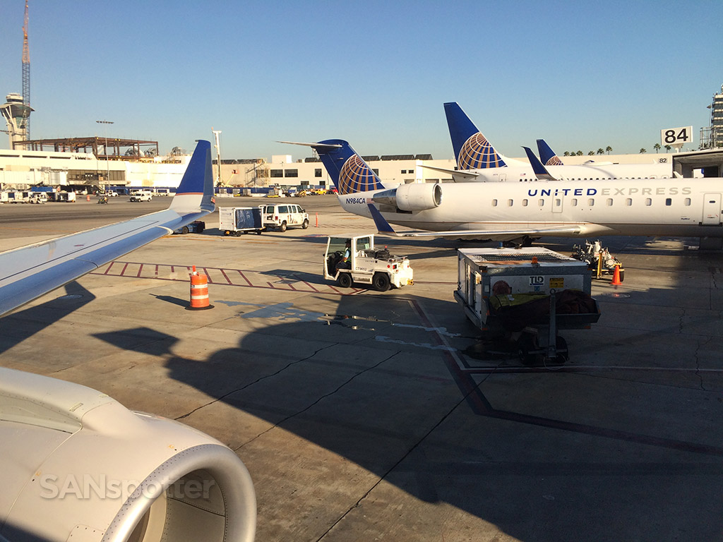 united express gates LAX