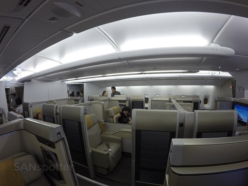asiana a380 first class cabin