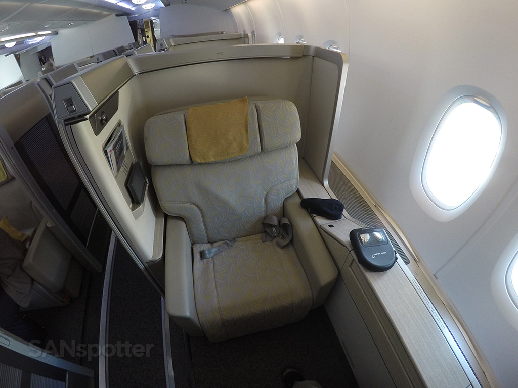 asiana a380 first class seat