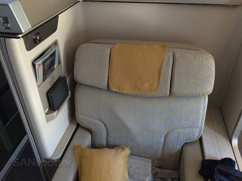 asiana a380 first class seat details