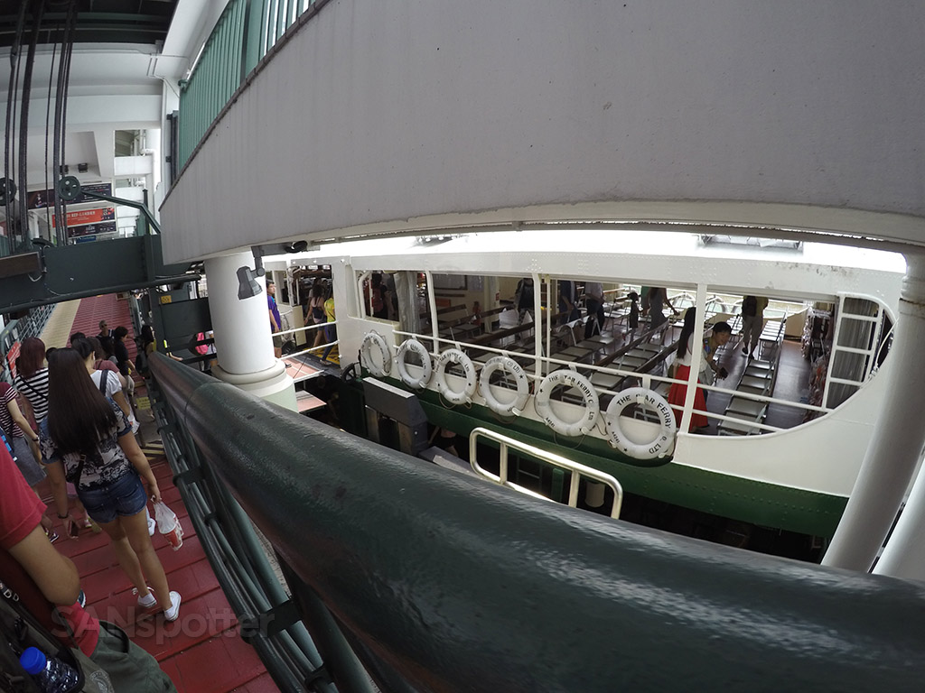 star ferry to Tsim Tsa Tsui
