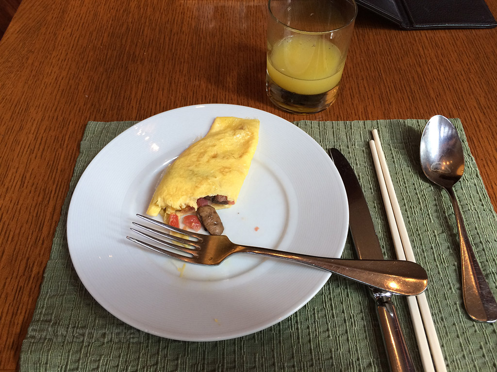 made to order omelet hyatt hong kong