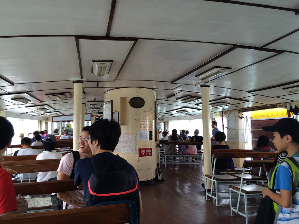 Star Ferry interior