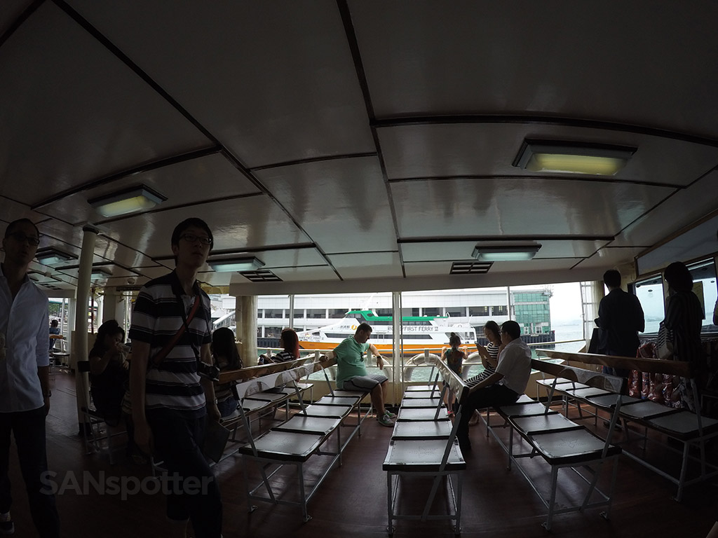 inside the star ferry hong kong