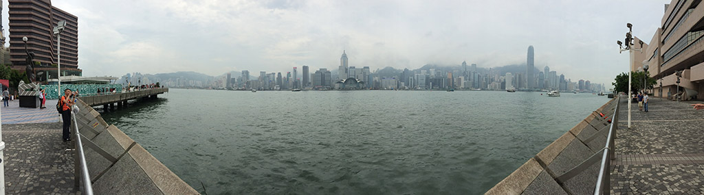 hong kong panoramic view