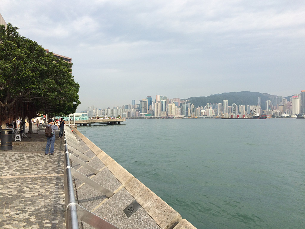 nice afternoon in hong kong