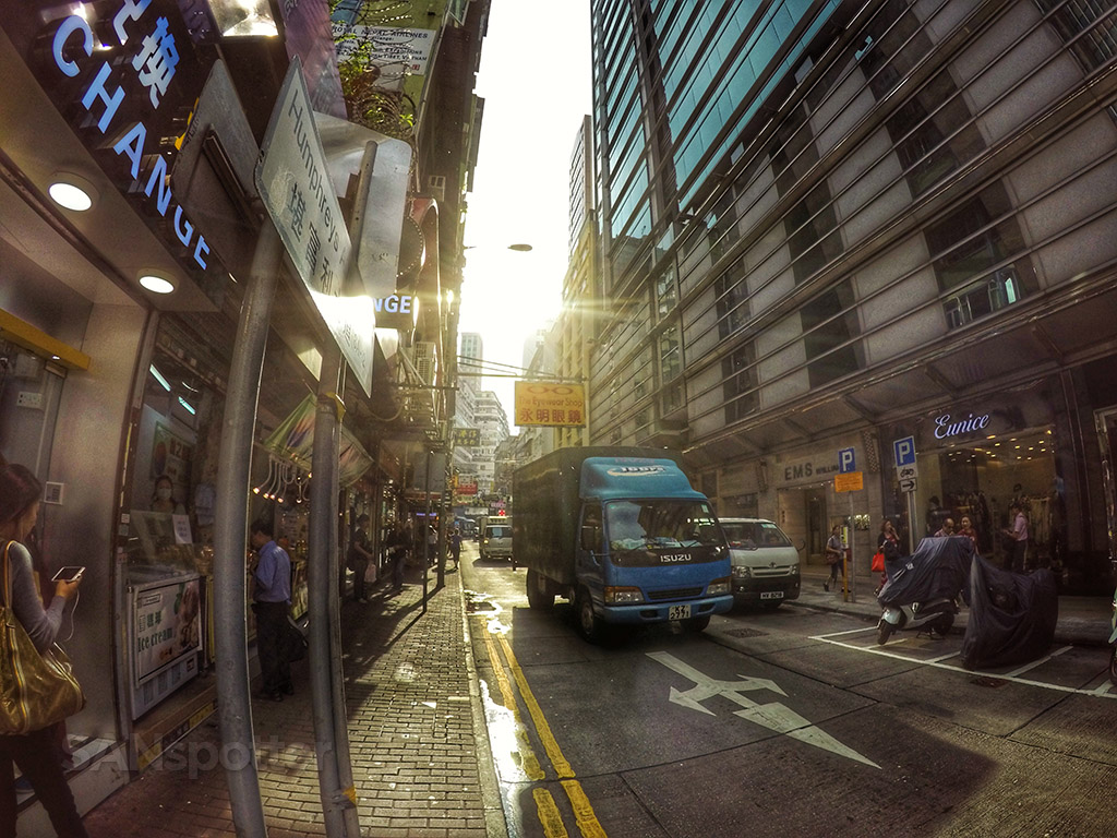 sunshine in hong kong