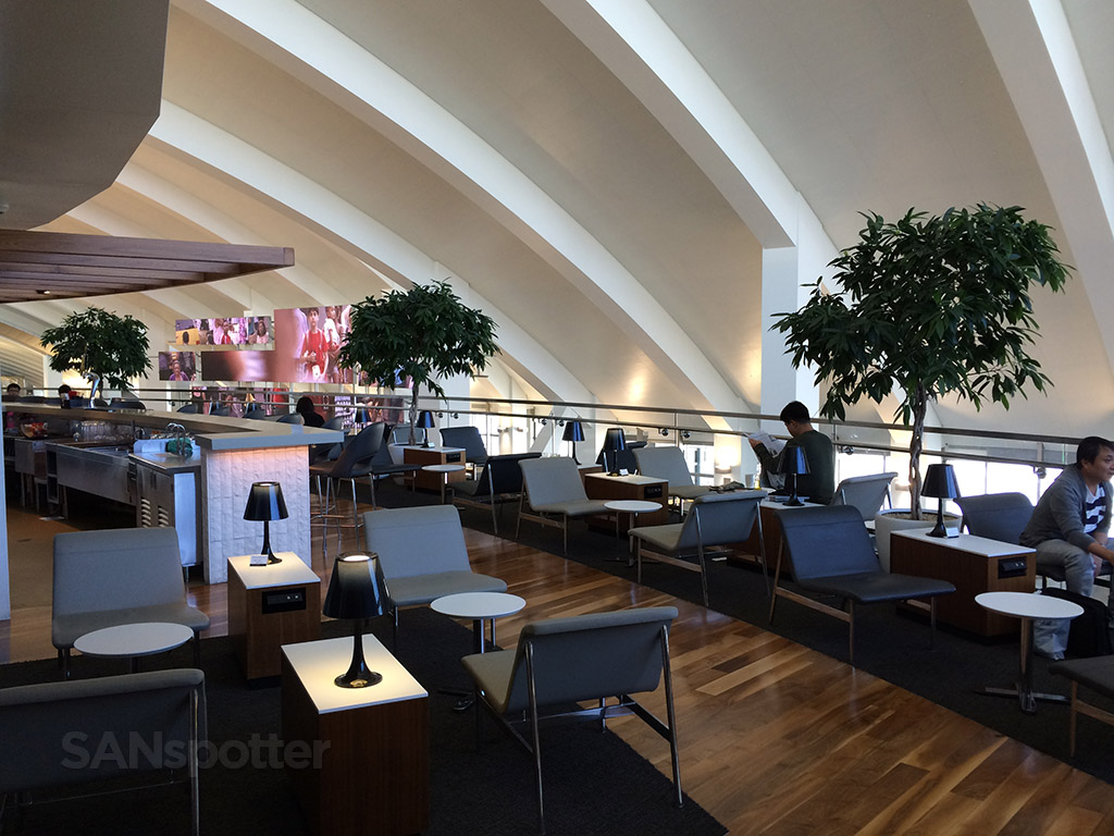 lax business class lounge open terrace