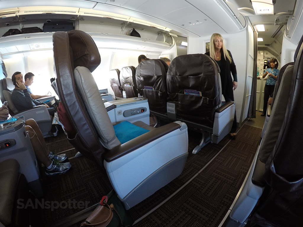 hawaiian airlines first class cabin