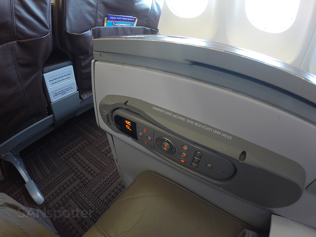 first class seat entertainment system remote