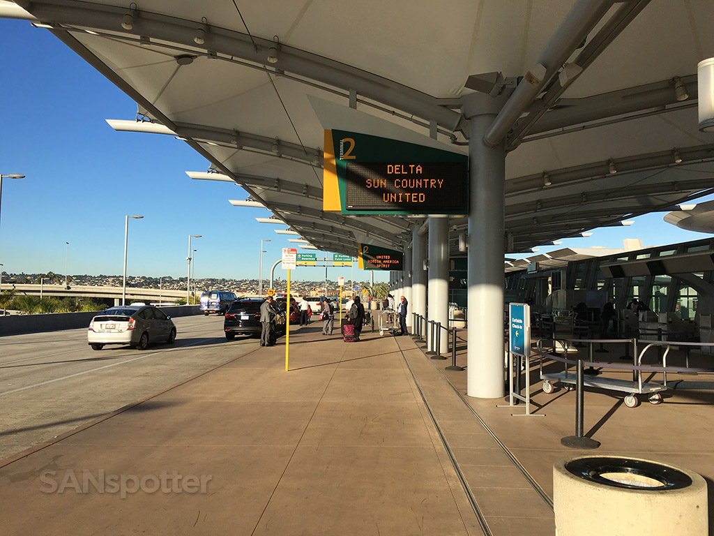 SAN terminal 2 departures level