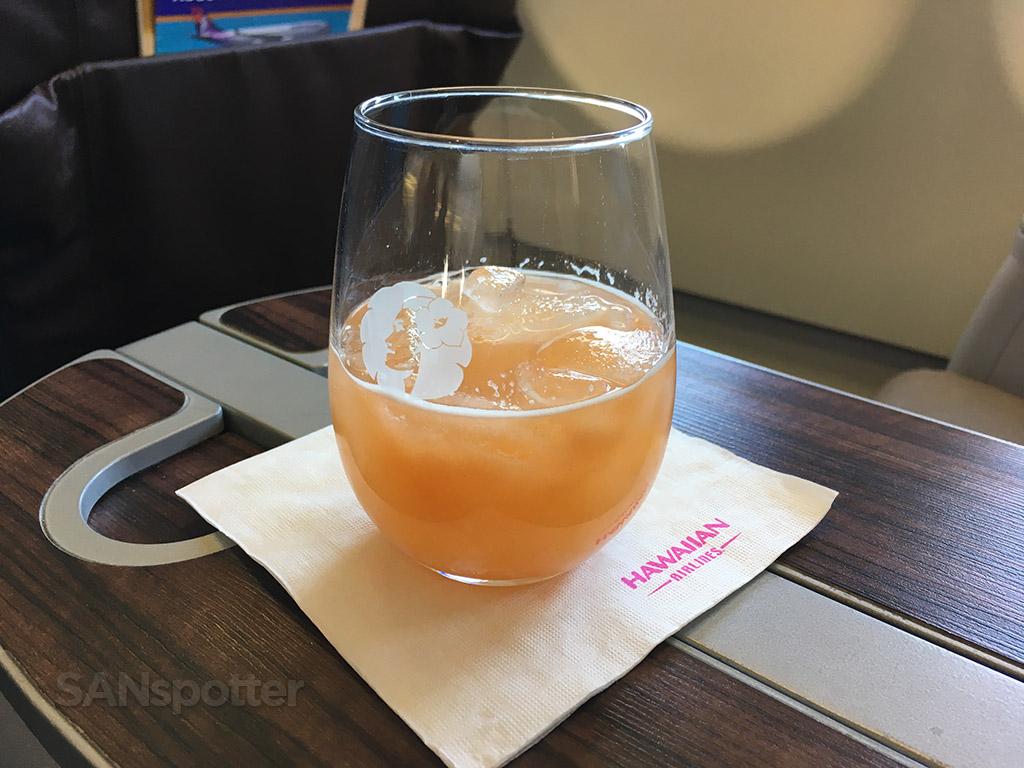 Pre-Departure guava juice