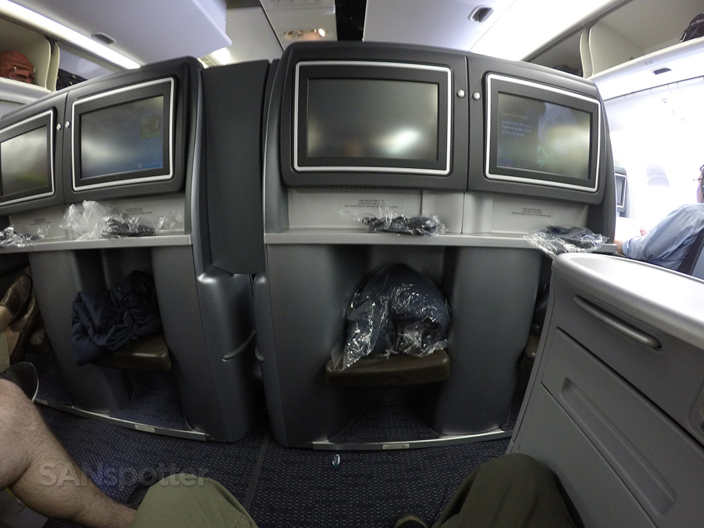 united BusinessFirst seat