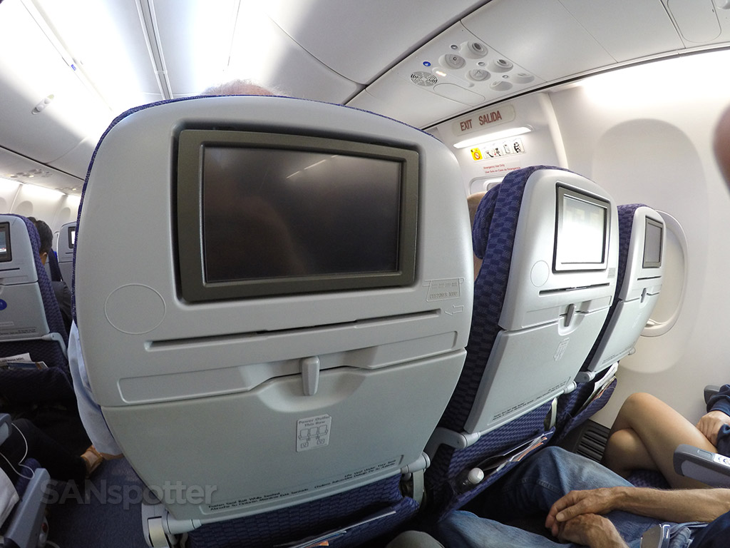 personal video united airlines 737-900