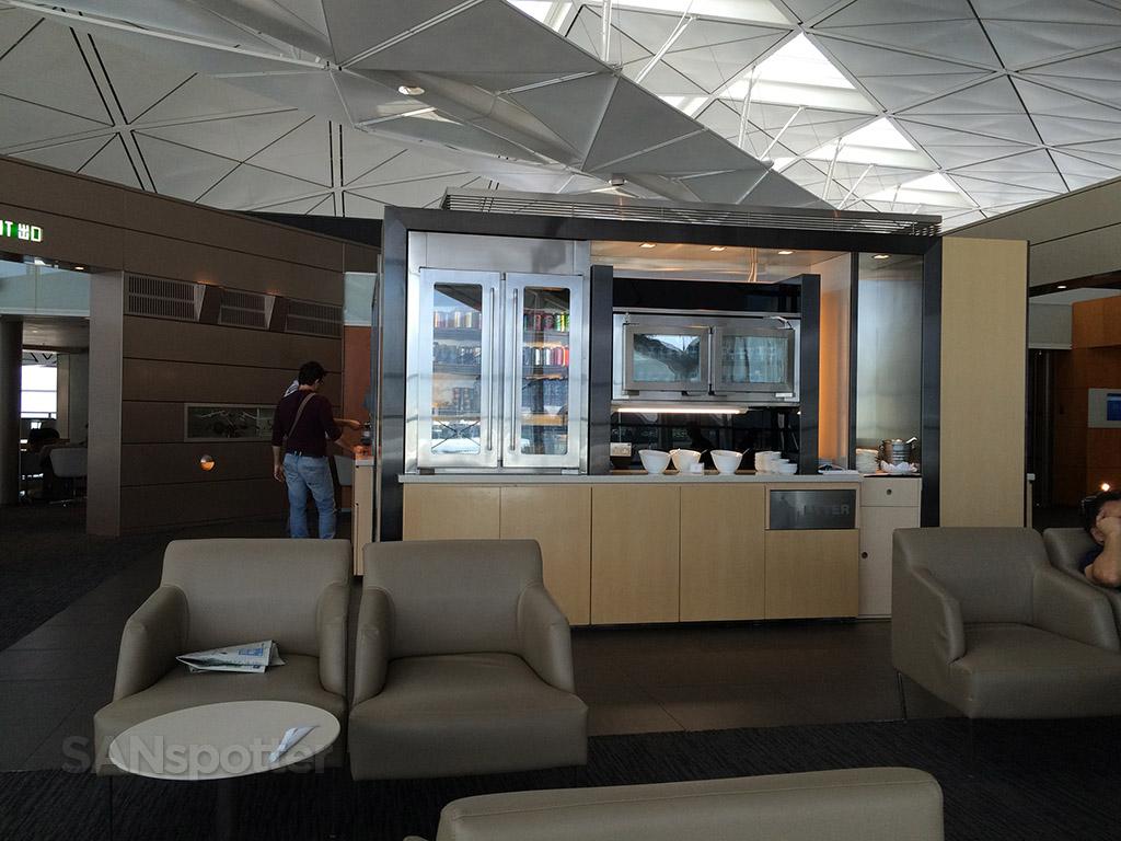 food bar united club hong kong airport
