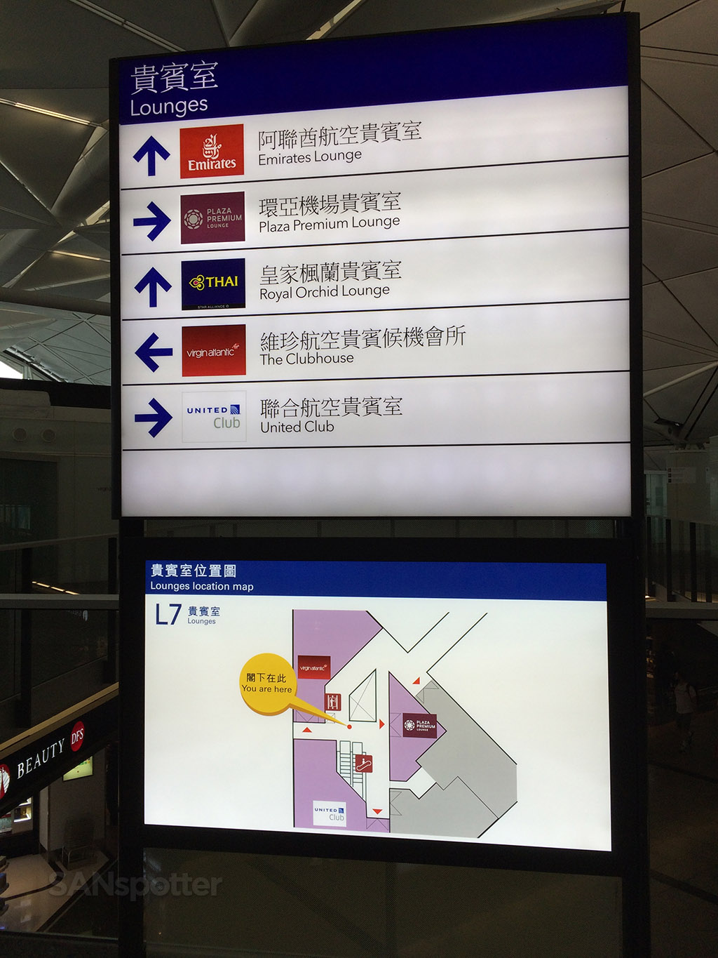 united club hong kong map