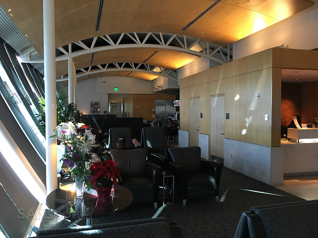 mid section flagship lounge lax