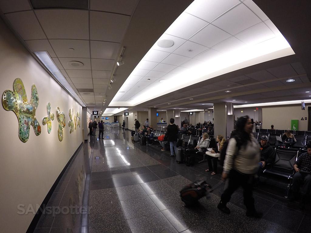 gate 32 terminal 2 east san diego airport
