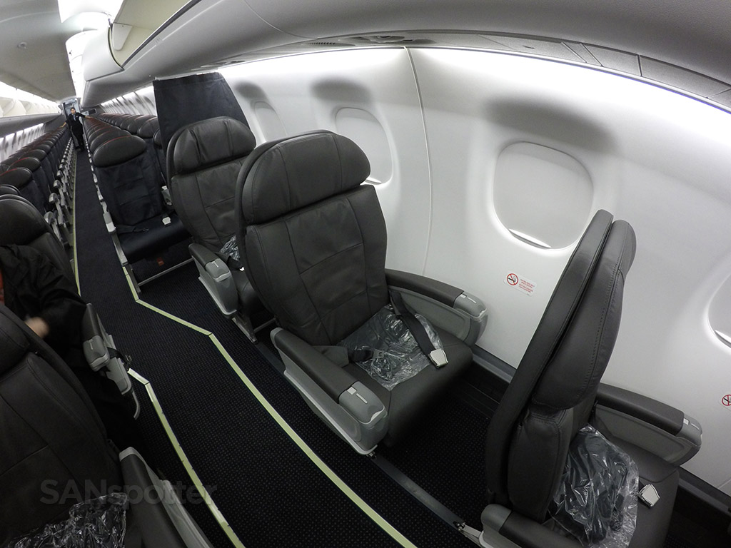first class cabin configuration