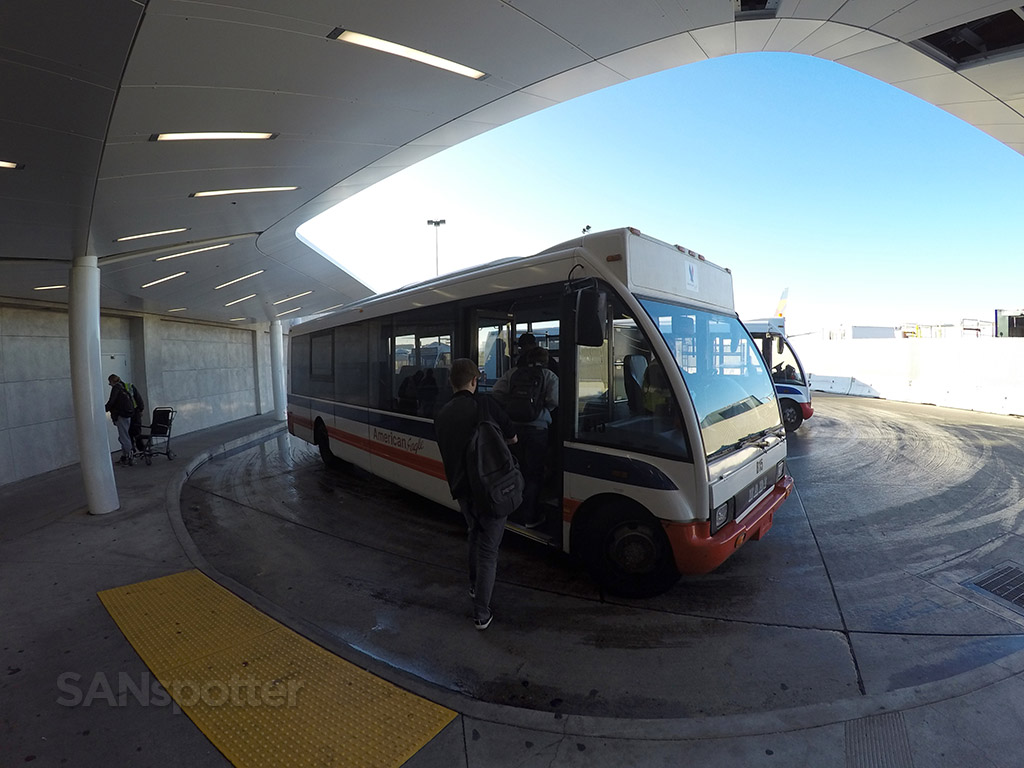 american eagle transfer bus LAX
