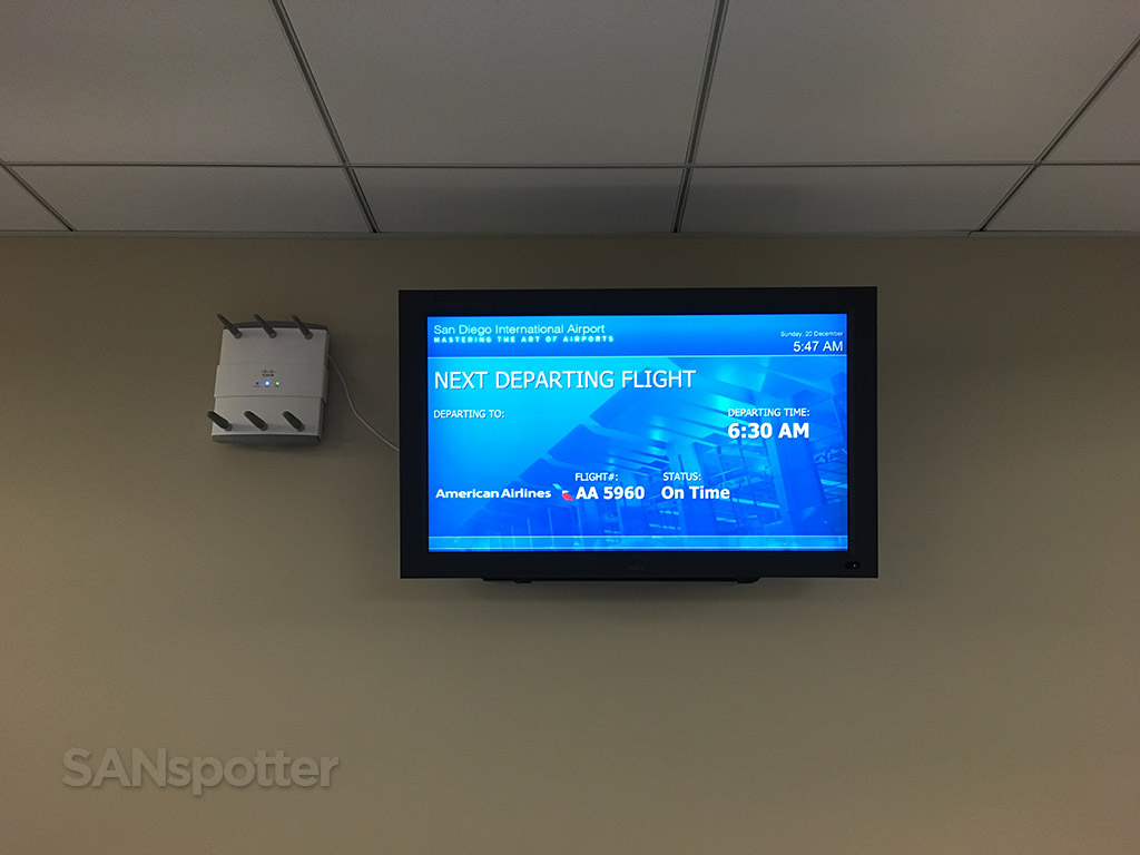 flight information board san diego