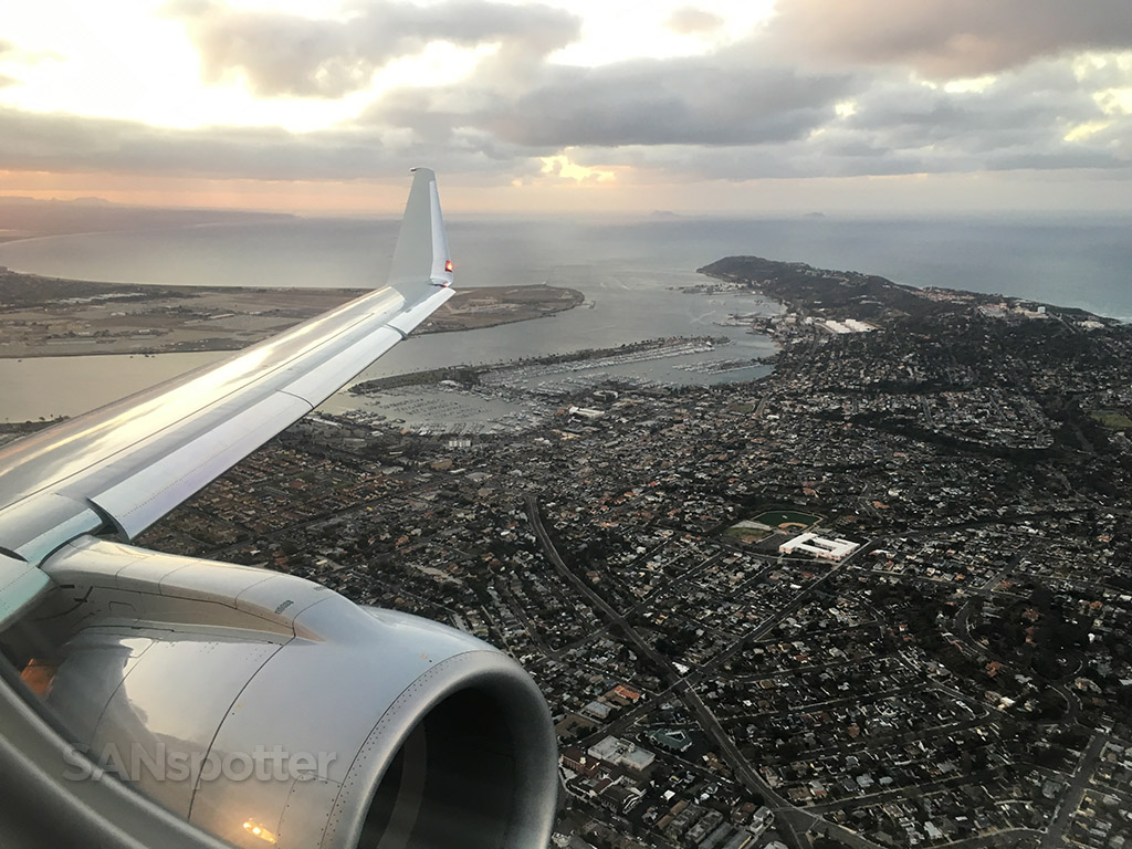 departing san diego