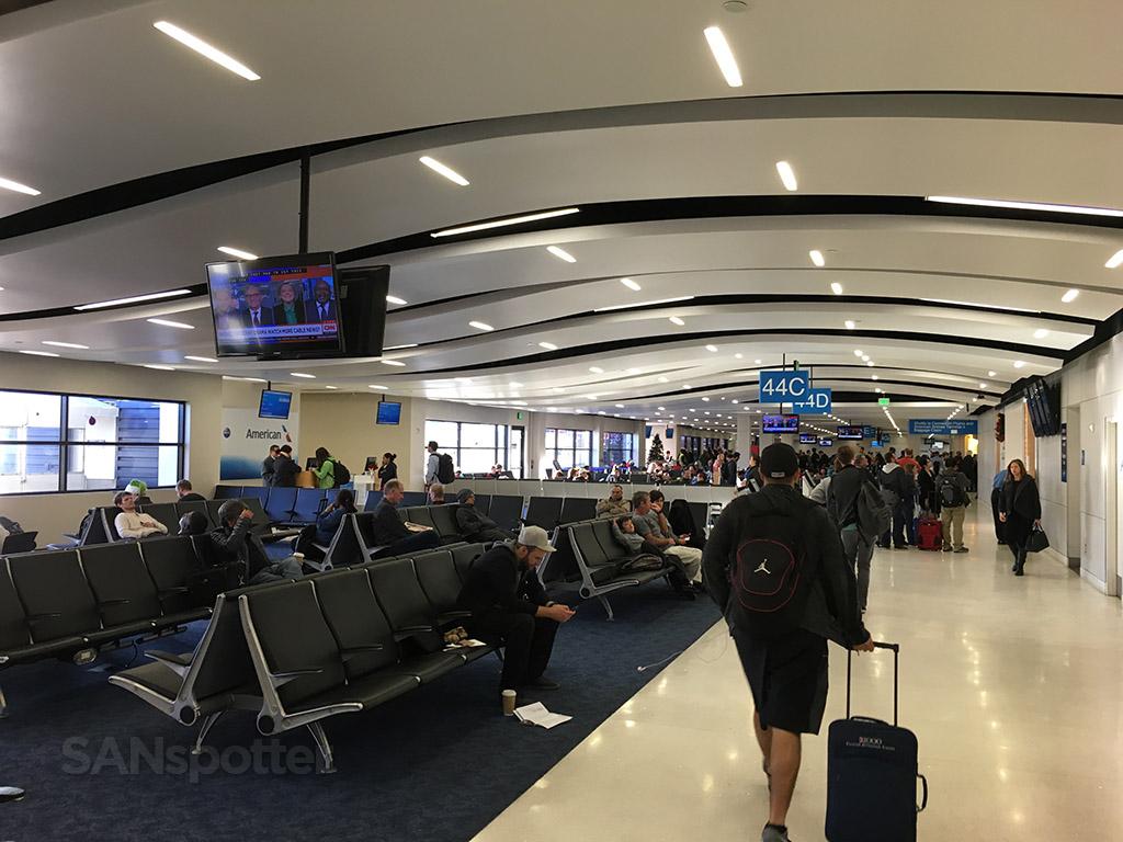 American Eagle terminal LAX