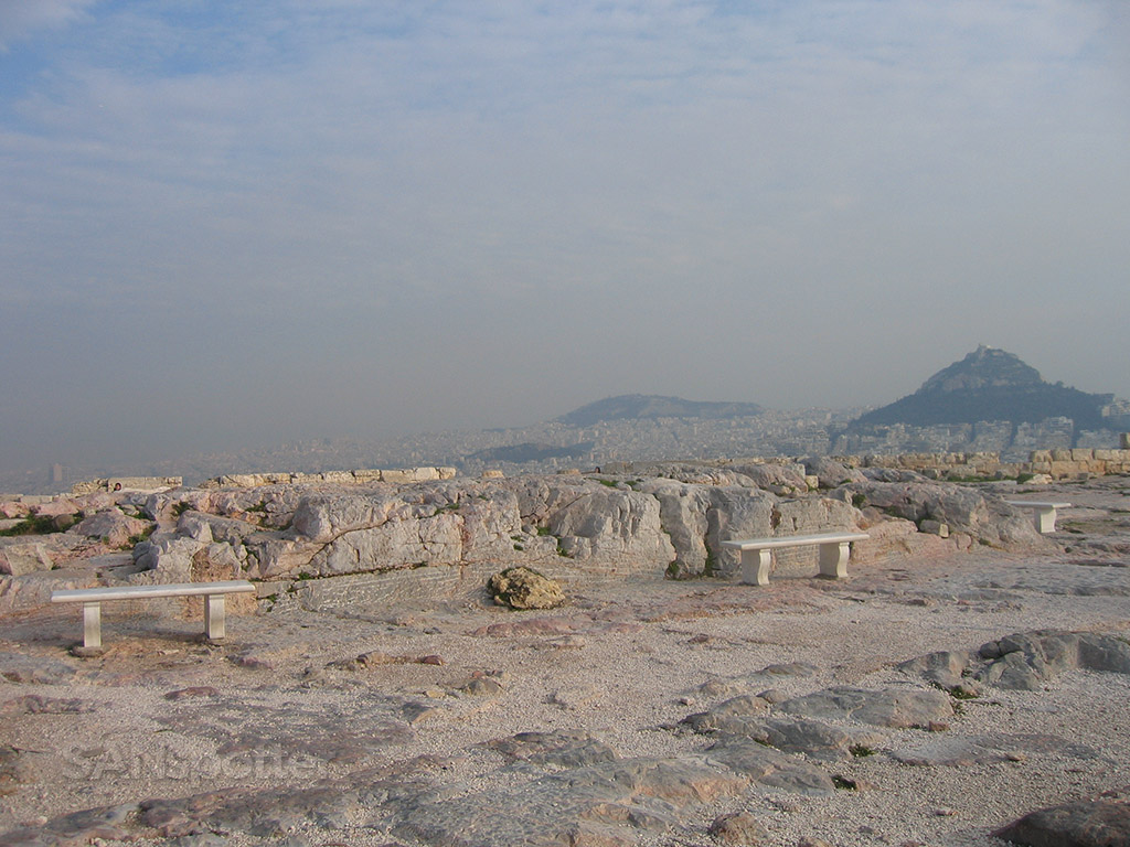 acropolis rock structures