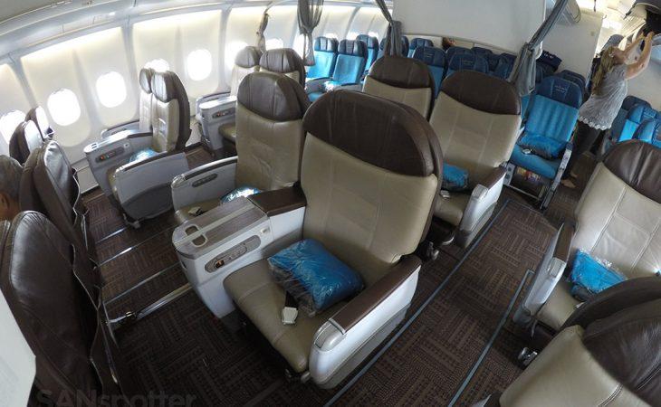 Hawaiian Airlines A330-200 first class cabin