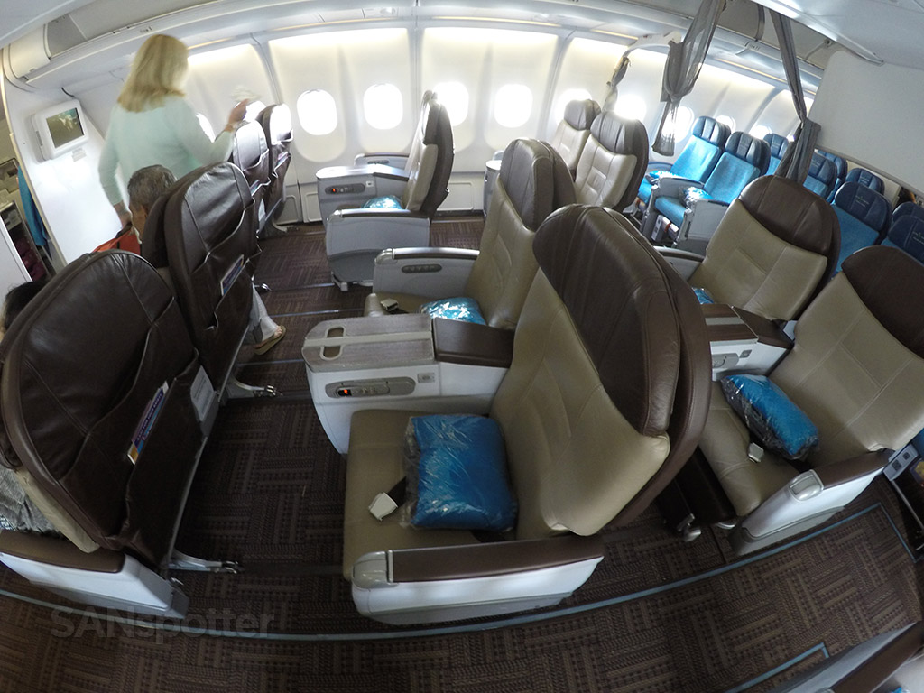 first class layout