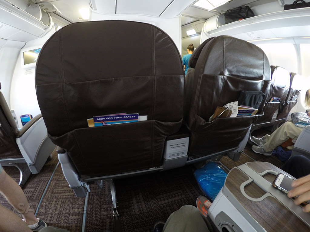 hawaiian airlines first class recliner seats