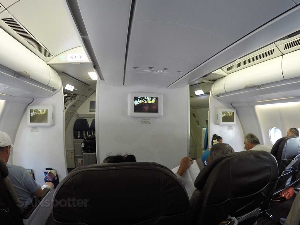 hawaiian airlines a330 bulkhead