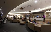 inside the hawaiian airlines lounge