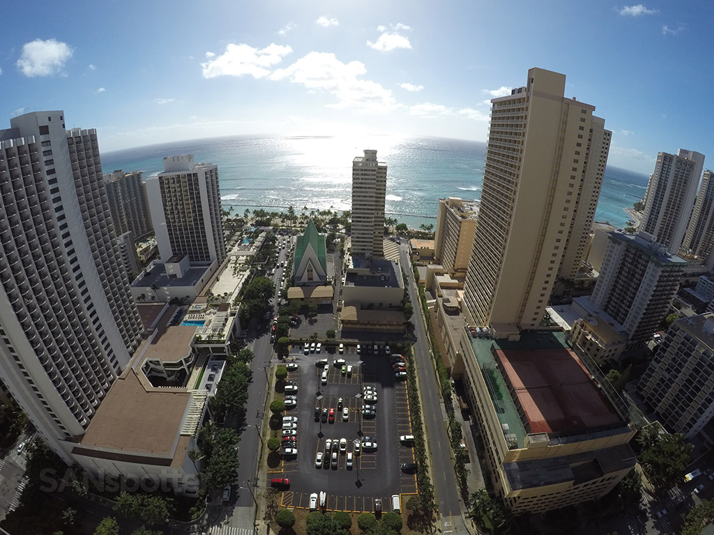 view from hilton waikiki beach