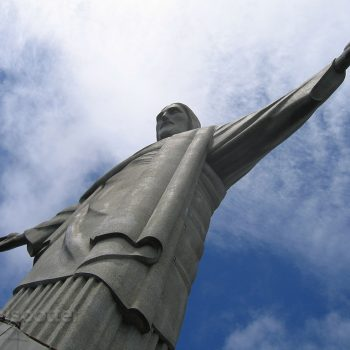 The Christ statue