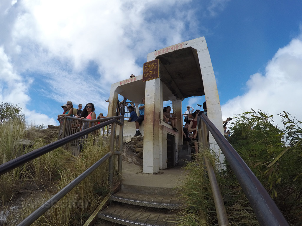 diamond head watch tower