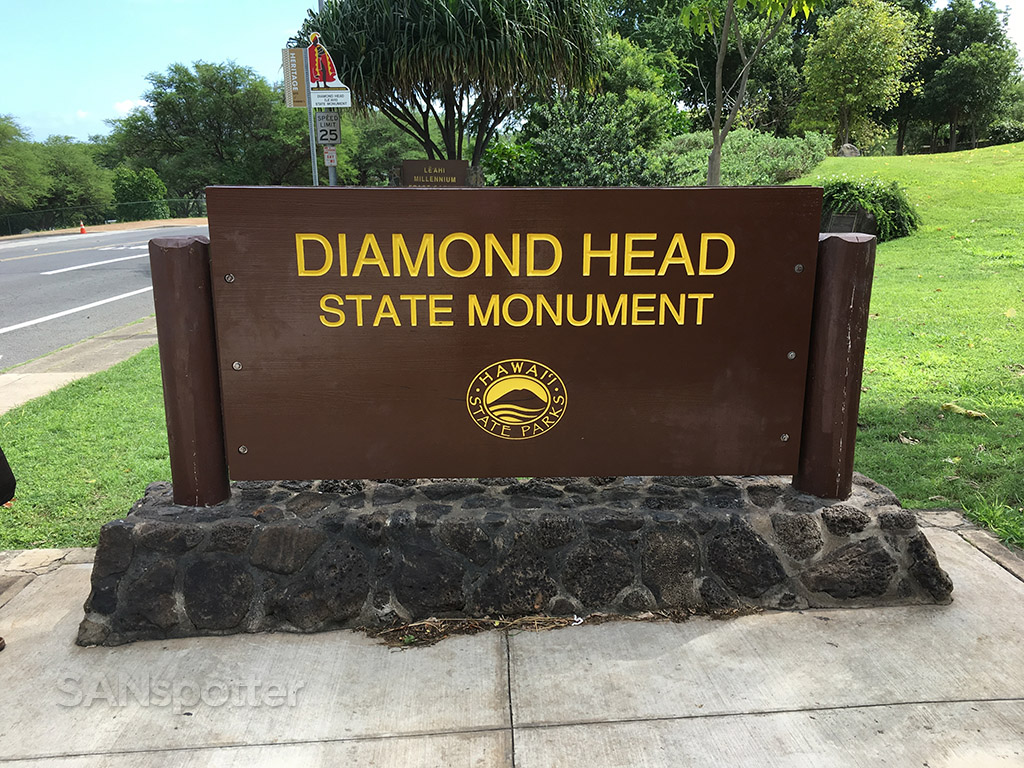 Entrance to Diamond Head