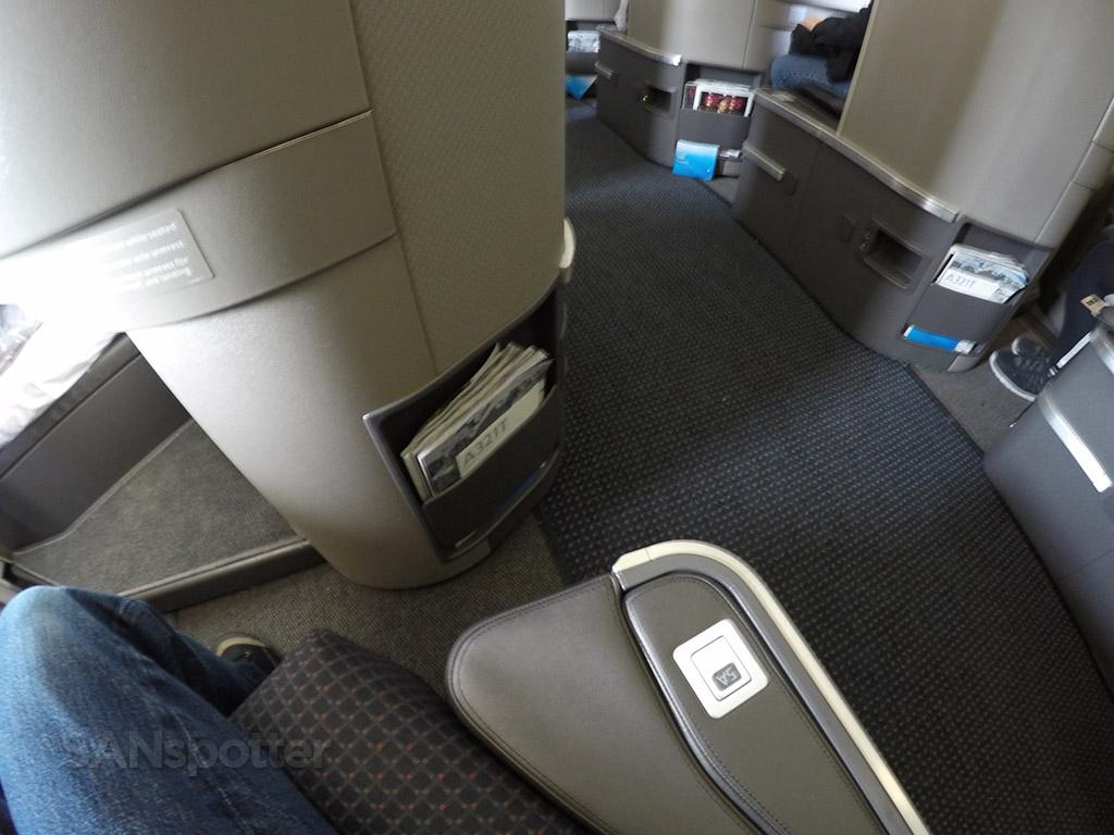 first class seat arm rest