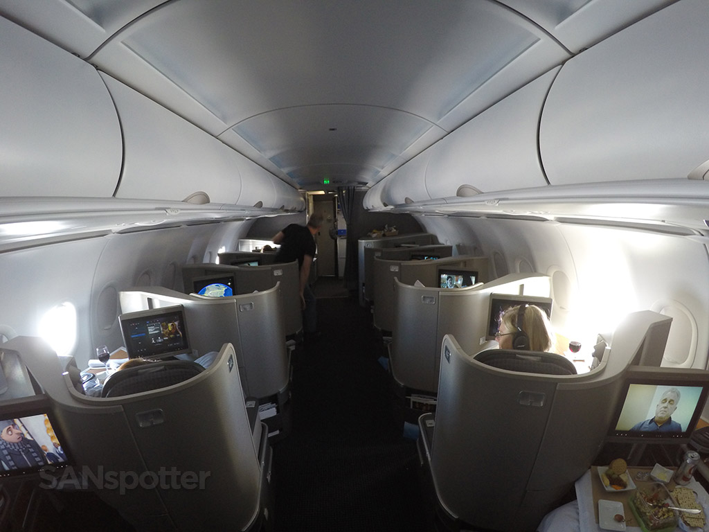 american airlines a321T first class cabin