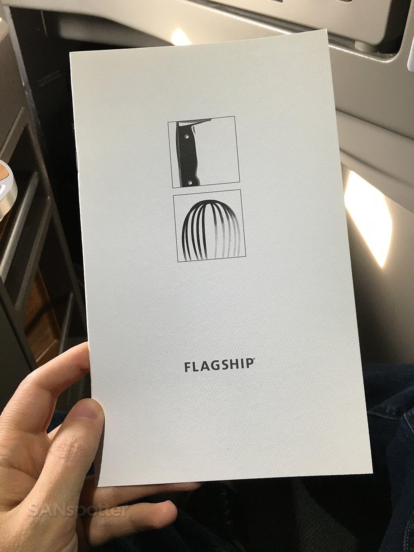 american airlines flagship menu