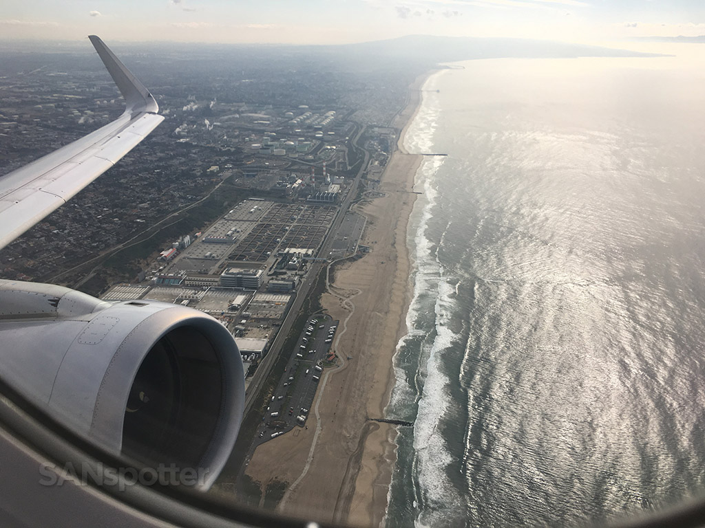 departing lax