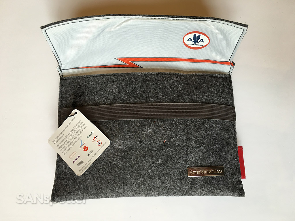 american airlines heritage amenity kit