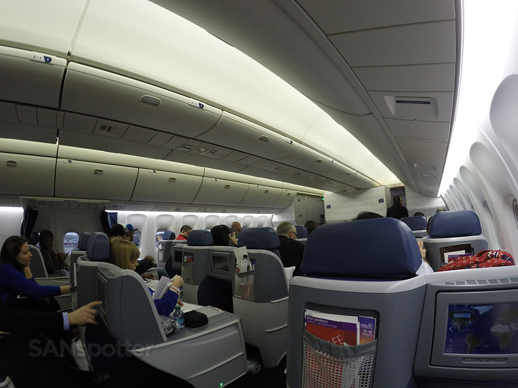 delta one cabin wide angle