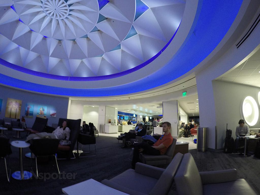 delta sky club interior