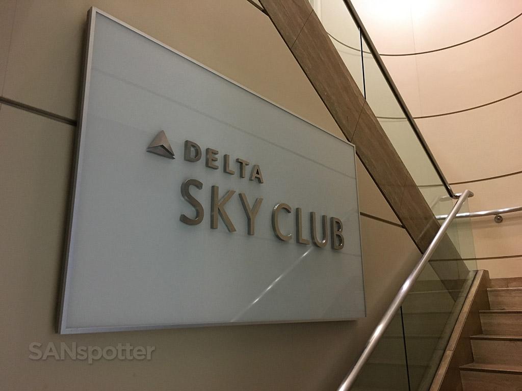 delta sky club entrance