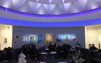 purple mood lighting delta sky club